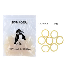 Dental 10 packs orthodontic elastic rubber bands Penguin 3.5 OZ,1/8  100pcs/pack