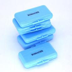 5 boxes Dental orthodontic bracket wax blue color Mint scent 5pcs/box