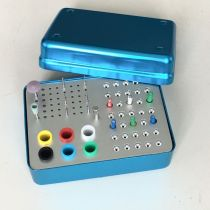 Dental 89 holes 4 use Disinfection box for endo files burs polisher and gutta