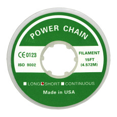 Dental orthodontic elastic chain power chain short type 4.572m 15FT clear color