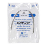 5 packs Dental orthodontic super elastic niti round arch wire 012 Lower Ovoid