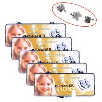 Dental 5 box orthodontic cartoon bracket mini roth slot 022 345 hook star shape