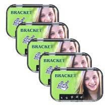 5 pcs Dental orthodontic mental monoblock bracket Mini roth 0.22 345 HK 5*5