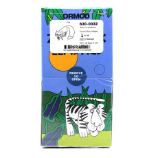 Dental orhtodontic 5000pcs/box ormaco elastic band Fox 3.5 OZ,1/4  Zoo Pack