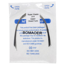 10 pack Dental orthodontic super elastic niti arch wire 014 upper oval 10pc/pack