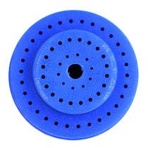 Hot! Dental bur holder with 60 pcs holes Blue round size dental instrument