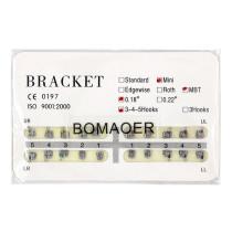 Dental 1 kit Orthodontic Mental Bracket Brace Mini MBT 018 345hooks 20pcs/set
