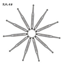 20 PCS Dental bur Latch Carbide Burs RA4 for Low Speed Handpieces