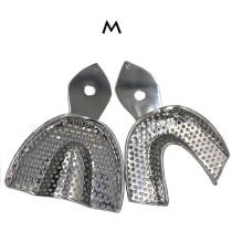 1 set Dental Autoclavable stainless steel Central Impression Tray 6pcs/set