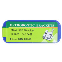 1 kit Dental orthodontic mental bracket mini MBT 0.022 345 with hook