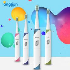 No Need Charge Ultrasonic Sonic Electric Toothbrush 4 Heads Langtian Z18