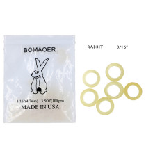 Dental 10 packs orthodontic elastic rubber bands Rabbit 3.5 OZ,3/1  100pcs/pack