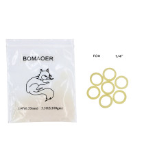 Dental 10 packs orthodontic elastic rubber bands Fox 3.5 OZ,1/4  100pcs/pack