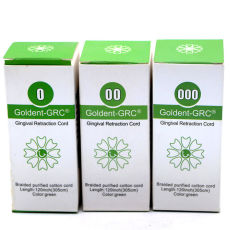20sets Dental Goldent -GRC Gingival Retraction Cord size 0 00 000 Germany