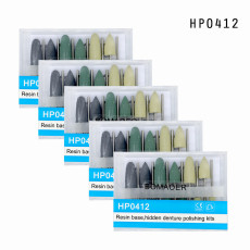 New 5 Kits Dental Diamond Burs Base Polishing Kits Hidden Denture HP0412