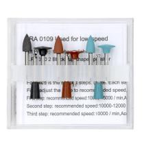New 1 Kit Dental Amalgam polishing kits RA0109 for low-speed 9 rubber polisher