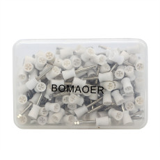 Dental New Latch type Polishing Polisher Prophy Cups Bowl White 100 Pcs/pack