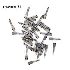 30pcs Dental endodontic material bulk sale pure TITANIUM SCREW POST size S3