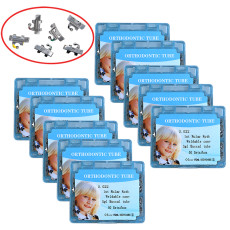 10 boxes Dental orthodontic 0.022 roth welding convertible single buccal tube