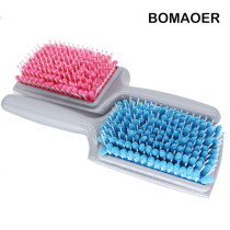 2016 New Quick Drying Antimicrobial Microfiber Hair Brush Microfiber Magic Drying Tangle Hair Brush Convenient Comb Hair Brushes