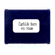10 pcs Dental bur Carbide Burs FG700 Friction Grip For high speed handpiece