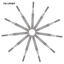 100pcs Dental Burs Tungsten Carbide FG1958 for High Speed Handpiece 10pcs/box