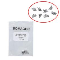 50packs Dental Non-Convertible Buccal Bondable Tube 1st Molar Edgewise 022
