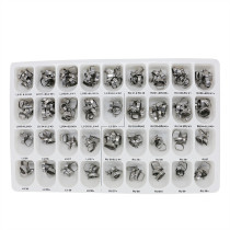 108 sets dental orthodontic 1st bands with U/3 L/2 buccal tube roth 022 31#-44#