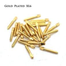 30pcs/pack Dental bulk sale endodontic material 24K Gold SCREW POST size XL6