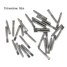 30pcs Dental Pure TITANIUM SCREW POST Size XL6 Endodontic Material Bulk Sale