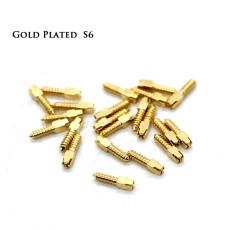30pcs Dental bulk sale endodontic material 24K Gold SCREW POST size S6