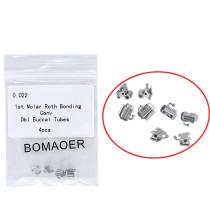 10 packs Dental Orthodontic 022 Roth Bonding Convertible Double Buccal tube U2L1
