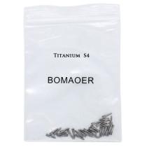30pcs Dental endodontic material bulk sale pure TITANIUM SCREW POST size S4