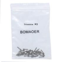 30pcs Dental endodontic material bulk sale pure TITANIUM SCREW POST size M3