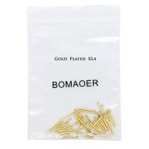 30pcs/pack Dental bulk sale endodontic material 24K Gold SCREW POST size XL4