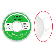 1 roll Dental orthodontic elastic chain power chain 4.57m closed type 15FT