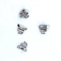 Dental Orthodontic 022 Buccal Tube 1st Molar Roth Welding Conv Tpl 4pcs/pack