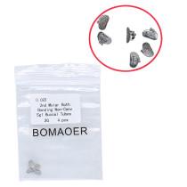 5X Dental orthodontic Bonding Buccal Tube for 2nd Molar Con-conv sgl Roth022 2G
