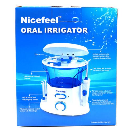 Nicefeel Dental Flosser Oral Irrigator Water Flosser with 10 Pressur