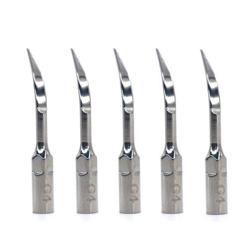 5pcs Dental Untrasonic Scaler Tip G4 For EMS/Woodpecker scaler