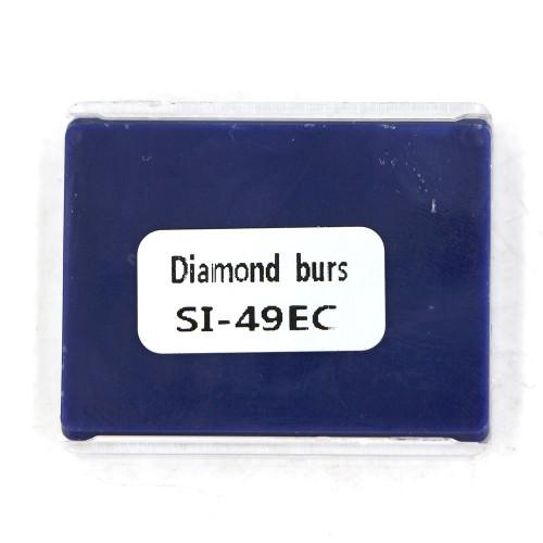 10pcs Details about Dental high speed diamond bur SI-49EC Inverted cone shape