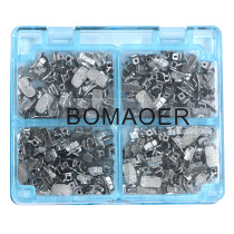 50sets/box Dental orthodontic buccal tube 1st molar non-convertible roth 022  ONLY ONE