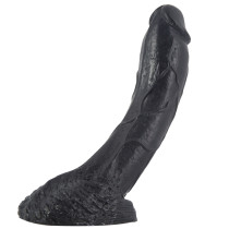 Realistic Huge Curved Dildo Veined sex toys with Suction Base for her and couples