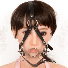 Mouth Restraints Bondage Toy For SM Fetish Silicone Gag Ball For BDSM Bedroom Play