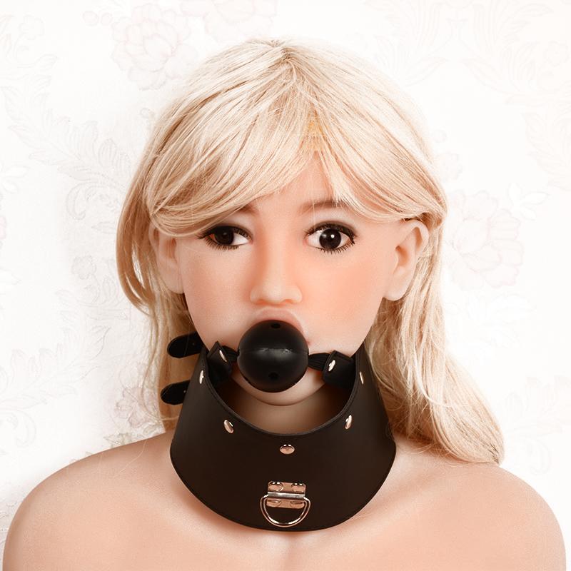Mouth Gag Bondage Silicone Dog Bone Bite Bar Women Mouth Gag Sexual Restraint Sex Toys