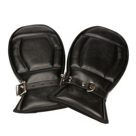 Lockable Padded Bondage Mitts Adult Sex Toys