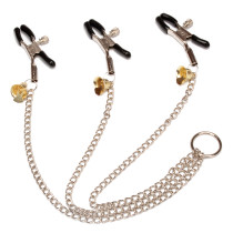 Adjustable Nipple Labia Clamps Fetish Nipples Teasers Adult Toys Breast Clit Sensual Bondage for Women Couples SM