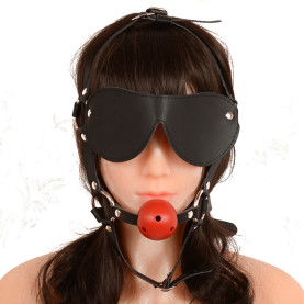 Adjustable Eye Mask for Masque Couples Flirting Fetish Bondage Toys