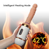 Portable Heating Automatic Fucking Dildo Toys With Remote Control Love Sex Machine Gun for Women and Men Couples' Masturbation