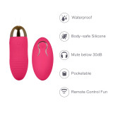 Wireless Bullet Massager Remote Control Egg Vibrator Kegel Ball Kit For Women Or Couples